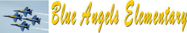 Blue Angels Elementary  Logo